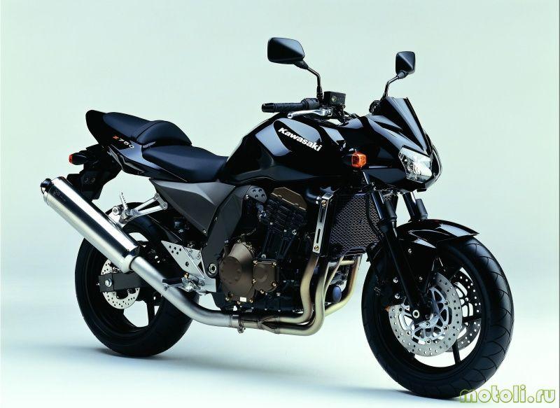 Kawasaki Z750 разгон до 100 идеи изображения мотоцикла