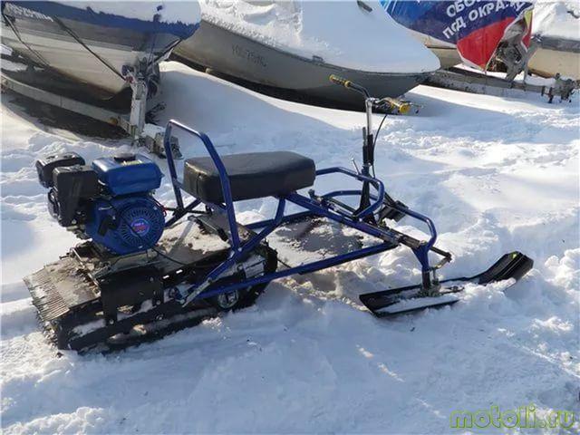Видео мини снегоходы своими руками