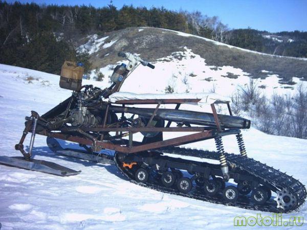 Гусеницы  для снегоката