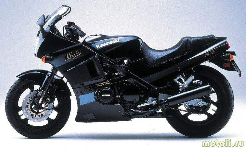 1984 Kawasaki GPZ 400: pics, specs and information