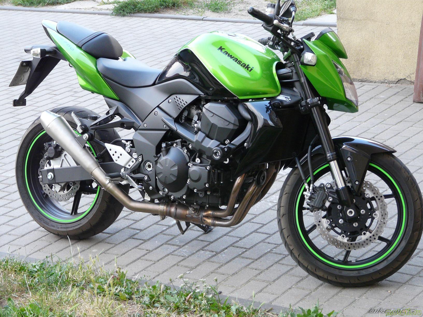 информация по мотоциклу Kawasaki Z750