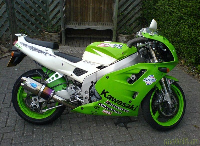 информация по мотоциклу Kawasaki Ninja Zxr 400