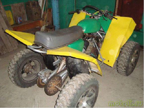 Квадроцикл из Ижа