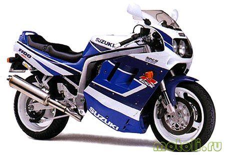 Мануалы и документация для Suzuki GSX-R 1100