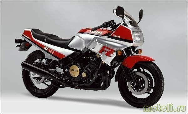 Мануалы и документация для Yamaha FZ750