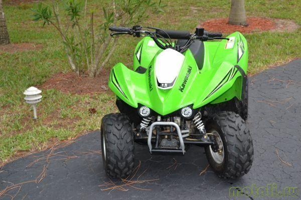 Квадроцикл Kawasaki KFX50
