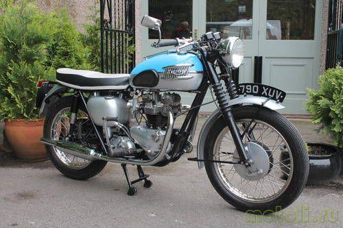 Мотоцикл Triumph T120 Bonneville 650 (1961)