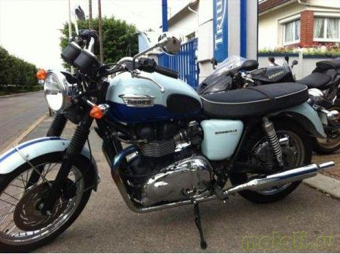 Мотоцикл Triumph Bonneville Sixty SE (2010)