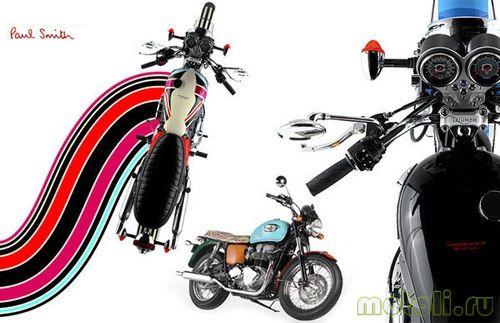 Мотоцикл Triumph Bonneville T100 Chevron-Paisley
