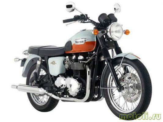 Мотоцикл Triumph T100 Bonneville 50th Anniversary (2009)