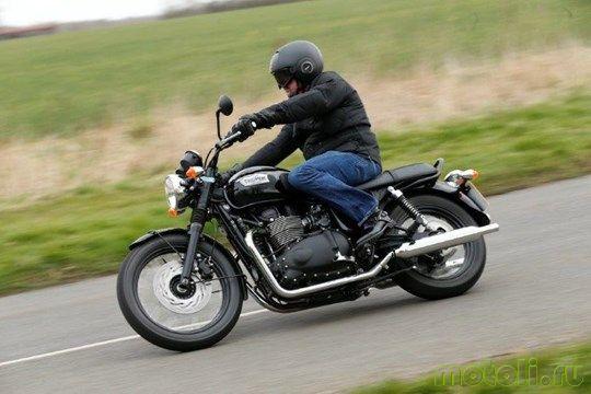 Мотоцикл Triumph T100 Bonneville Black Special Edition (2010)