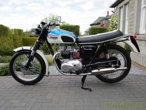 Мотоцикл Triumph Daytona T100T (1967)