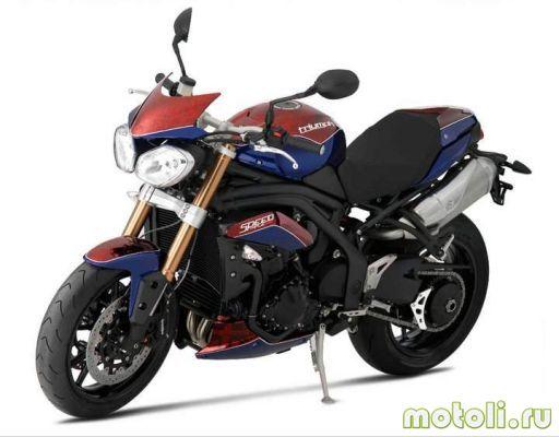 Мотоцикл Triumph Speed Triple Half Millionth Special (2011)