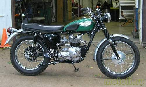 Мотоцикл Triumph Sport Tiger T100SC (1965)