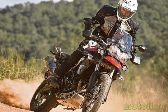Мотоцикл Triumph Tiger 800XC (2011)
