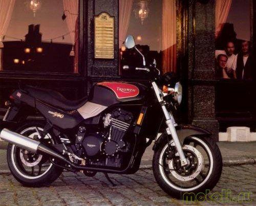 Мотоцикл Triumph Trident 900 (1991)