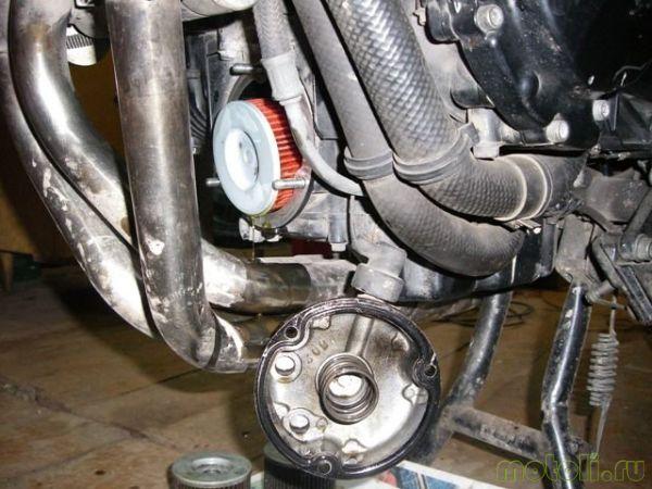 Suzuki GSF 400 bandit / Замена масла и фильтра