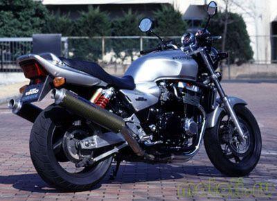Как заменить передние колодки на Honda CB 1300