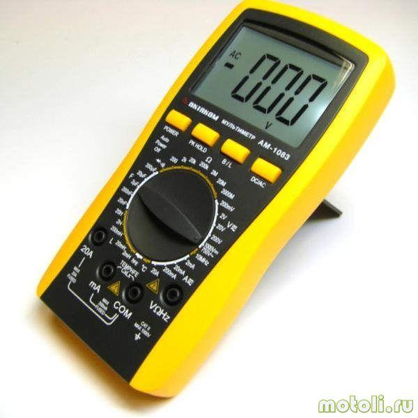 мультиметр для проверки генератора на скутере