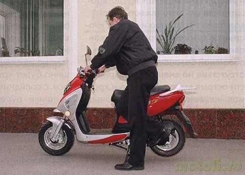 зачем прогревать скутер