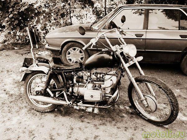 тюнинг мотоцикла днепр