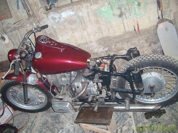 Что нужно знать при тюнинге мотоцикла днепр