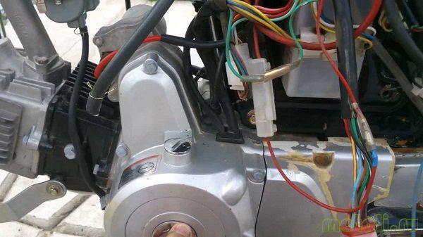 электрическая схема мопеда дельта