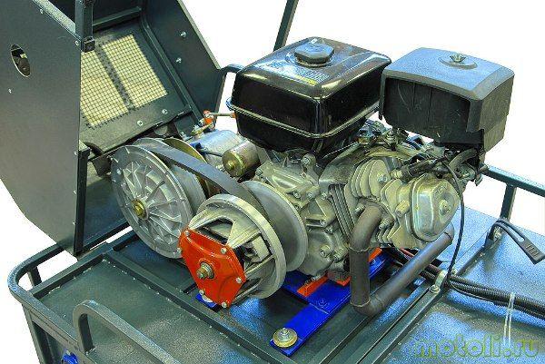 двигатель мотобуксировщика