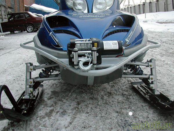 лебедка для снегохода