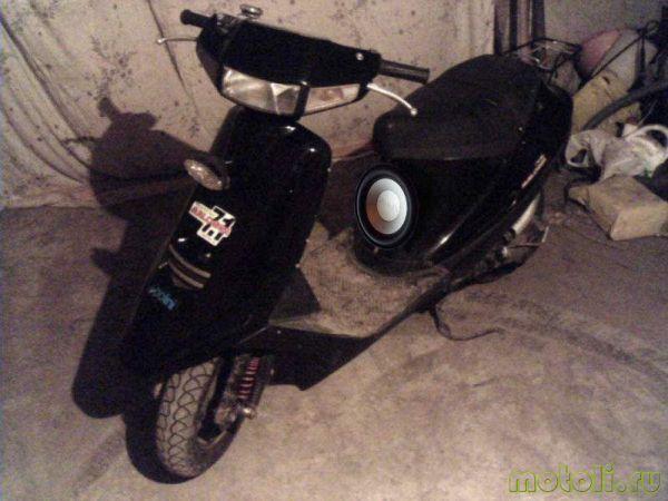 установка магнитолы под седло скутера