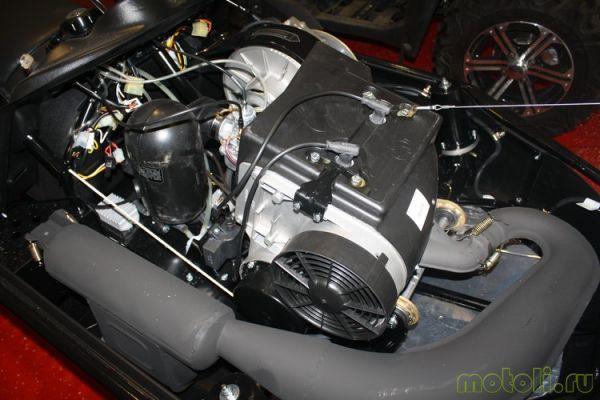 мотор бензиновый на снегоход