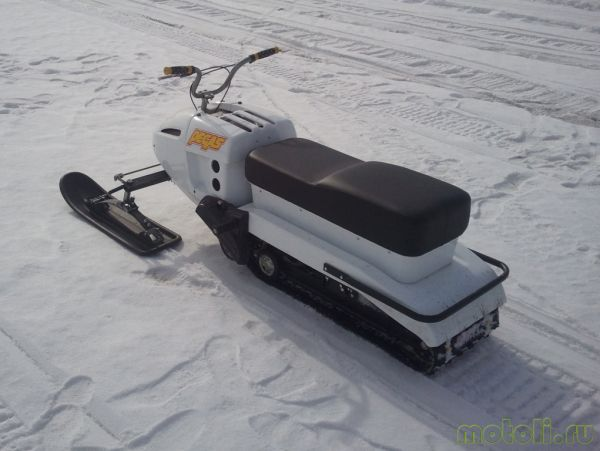 мини-снегоход для рыбалки