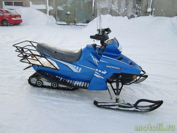 качественный мини-снегоход