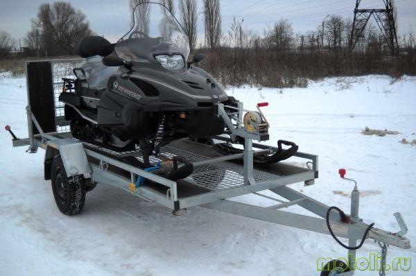 автоприцеп для снегохода