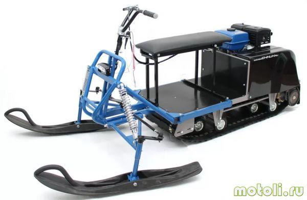лыжный модуль для мотобуксировщика