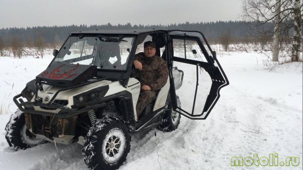 самодельный снегоход с кабиной