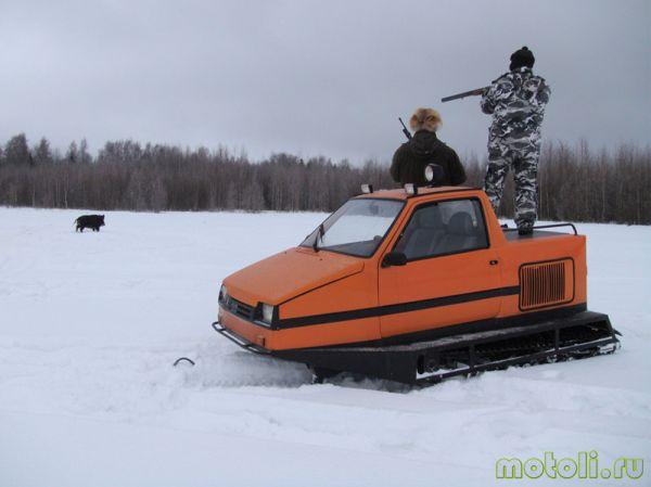 кабина снегохода