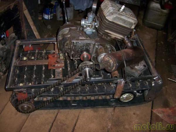 ремонт двигателя мотобуксировщика
