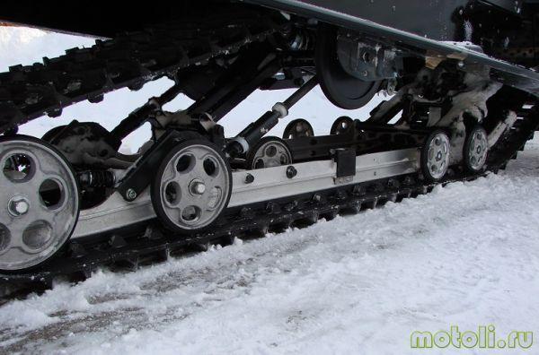 ремонт гусеницы снегохода