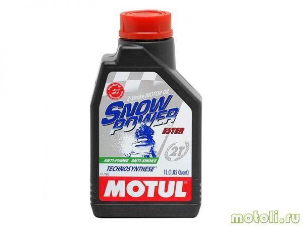 качественное масло для снегохода