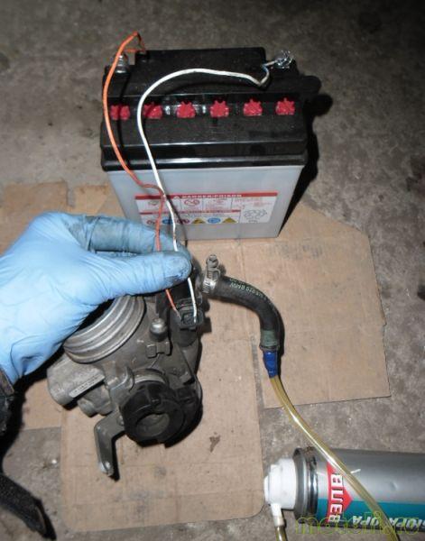 Способы чистки форсунок инжектора мотоцикла