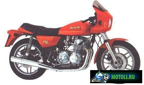 Benelli 654 Sport
