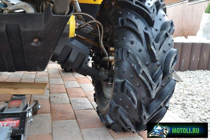 Защита на квадроцикл cf moto 500 своими руками