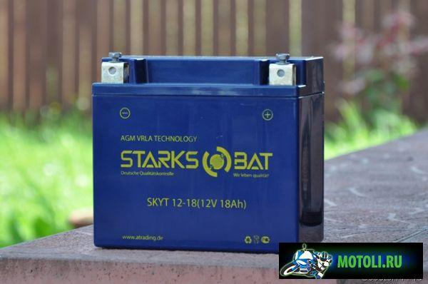 Аккумулятор Starksbat YT12-18