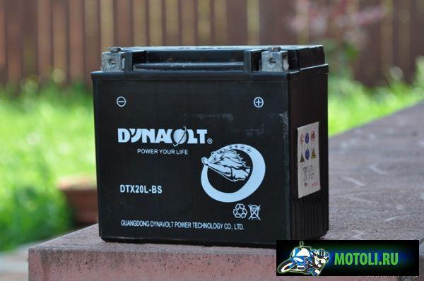 Аккумулятор Dynavolt DTX20L-BS
