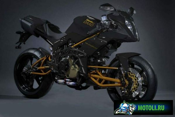 Bimota Tesi 3D Rock Gold