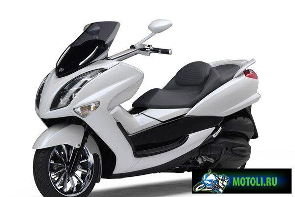 Новая модификация скутера Yamaha Majesty YP250 2012 года