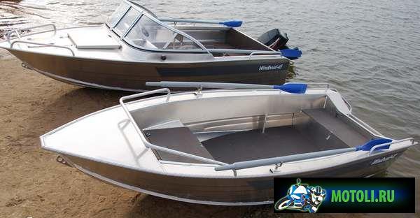 Лодка Windboat 42
