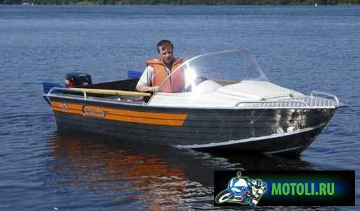 Лодка Вельбот-46М