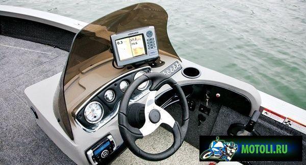 Алюминиевая лодка Crestliner Sportfish 2150 SST